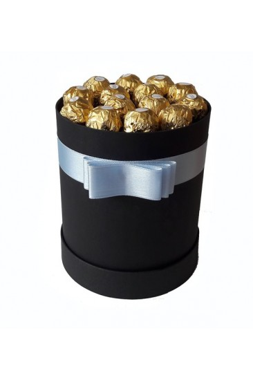Silindir Kutu Hediye Çikolata 25