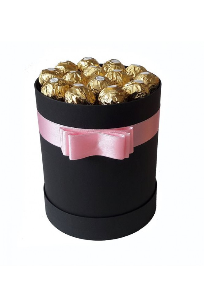 Silindir Kutu Hediye Çikolata 26
