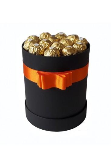 Silindir Kutu Hediye Çikolata 27