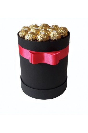Silindir Kutu Hediye Çikolata 28