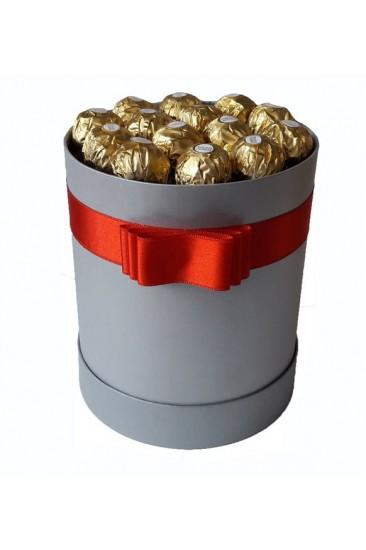 Silindir Kutu Hediye Çikolata 29