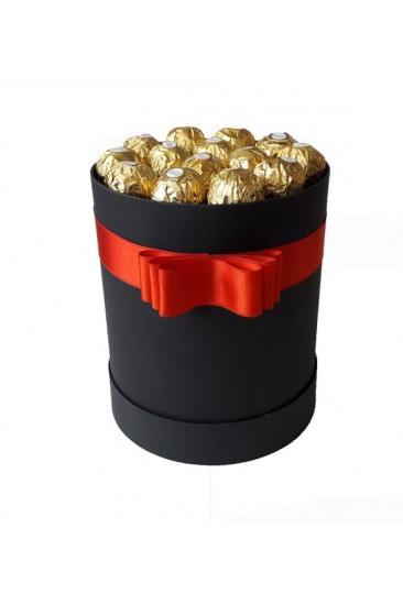 Silindir Kutu Hediye Çikolata 30